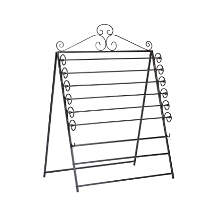 Delicieux Southern Enterprises Easel/Wall Mount Craft Storage Rack, Black Finish