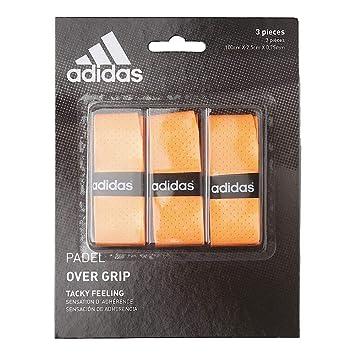 adidas Pádel OV - Set overgrip, Color Naranja, Talla única: Amazon ...