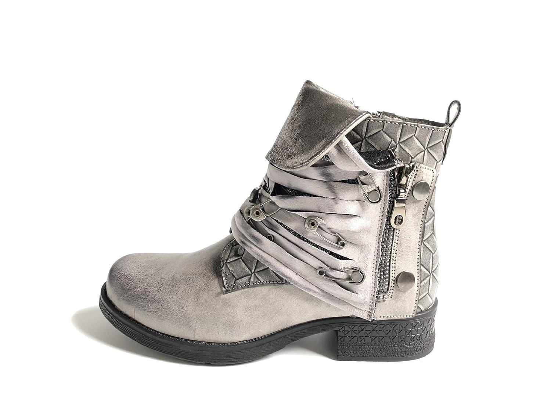 BeatinToes Damen Winter Thermisch Wasserdicht Wasserdicht Pu Martin Stiefel Retro Stiefel Schuhe Von Solid Modische Frauen