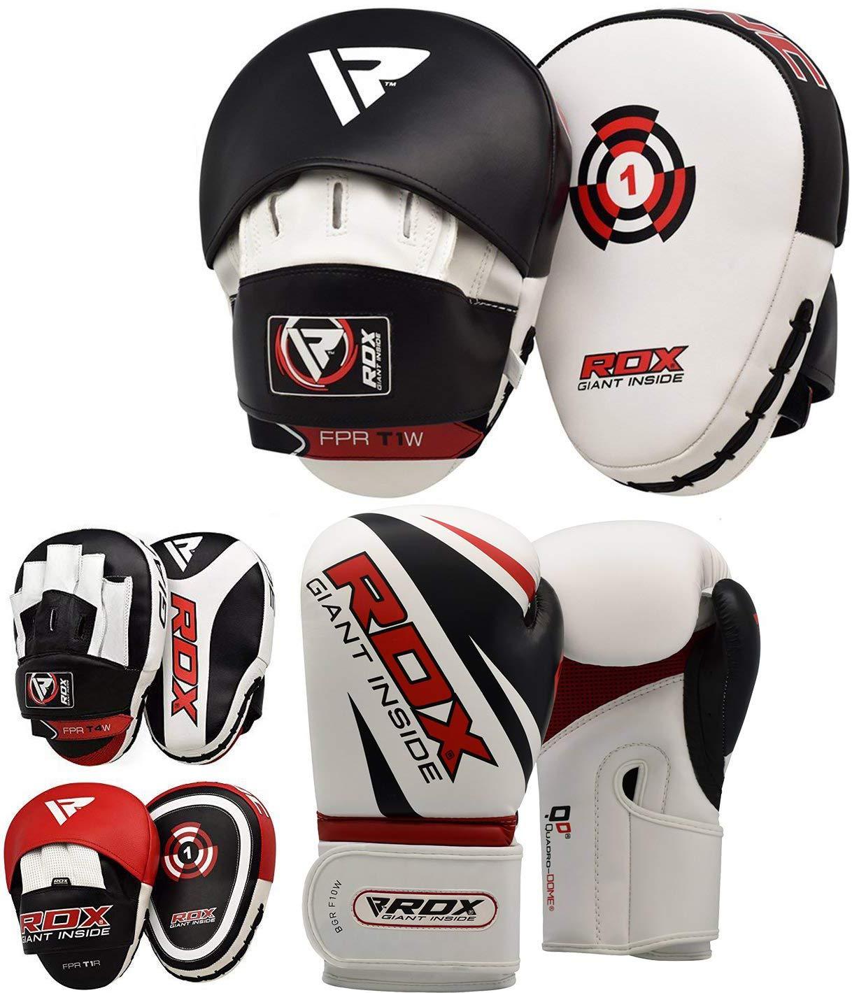 RDX MMA Artes Marciales Escudo Boxeo Paos Mano Patada Entrenamiento Pad Manoplas Segunda Esto Se Vende como Cada Elemento