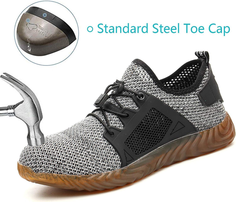 Angbater Indestructible Steel Toe Work