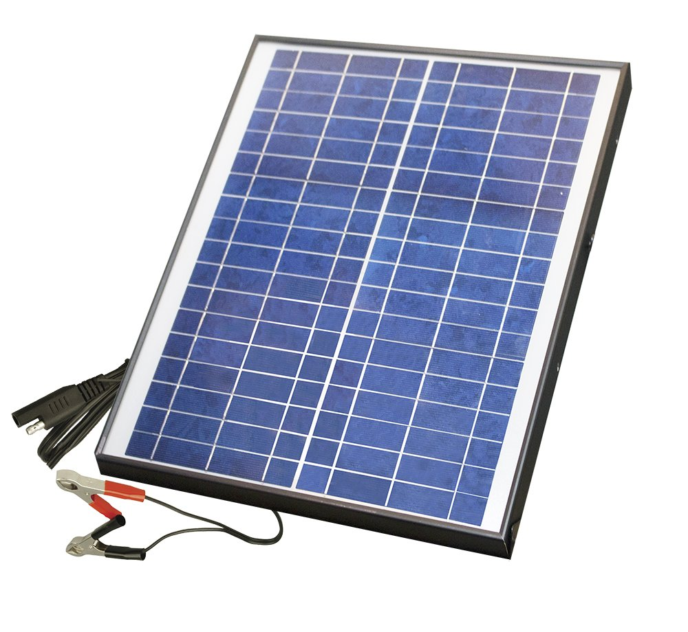 Nature Power 20-Watt Polycrystalline 12-Volt Solar Battery Charger by Nature Power