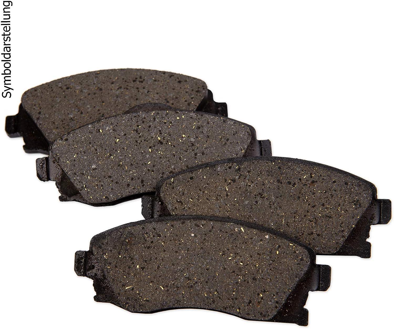 500ml Bremsenreiniger Bremsbel/äge Kl/ötze hinten Hinterachse Bremsscheiben /Ø250mm
