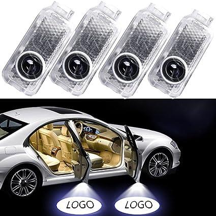 Notens logotipo de luces LED para puerta de coche sombra proyector fantasma sombra luz cortesía Bienvenido Logo