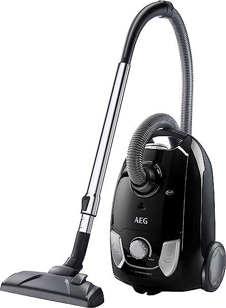AEG VX4-1-EB Aspirador con bolsa, 750 W, 3 litros, Negro: Amazon.es: Hogar