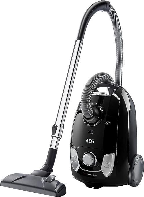 AEG VX4-1-EB Aspirador con bolsa, 750 W, 3 litros, Negro