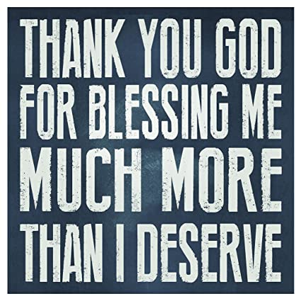 Amazoncom Thank You God For Blessing Me Sign Religious Quote Sign