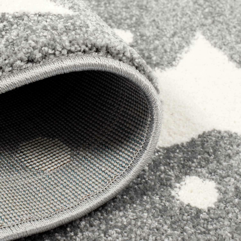 Taracarpet Kinderzimmer und Jugendzimmer Teppich Teppich Teppich Dreamland Kinderzimmerteppich Sterne grau Creme 120x120 cm rund B07N7VJLXP Teppiche 8ada5b