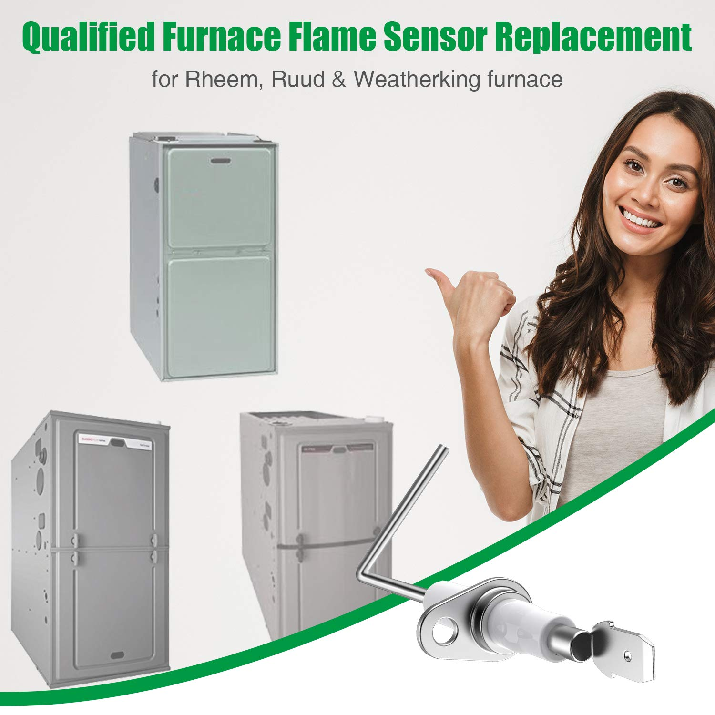Rheem 62-23543-01 Flame Sensor Rod for Rheem Ruud and Weatherking Furnaces New