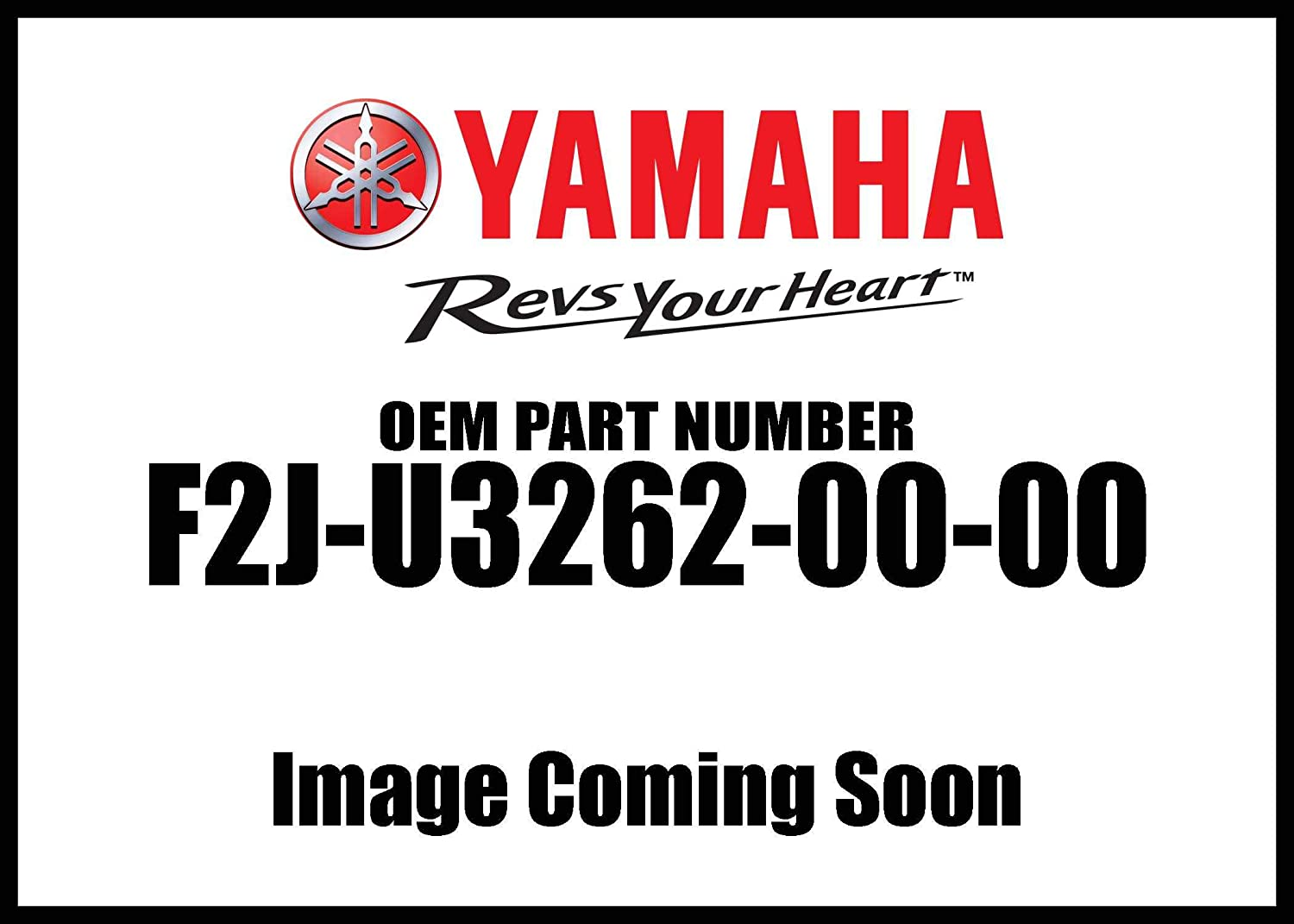 Yamaha F2J-U3262-00-00 Seal; F2JU32620000 Made by Yamaha