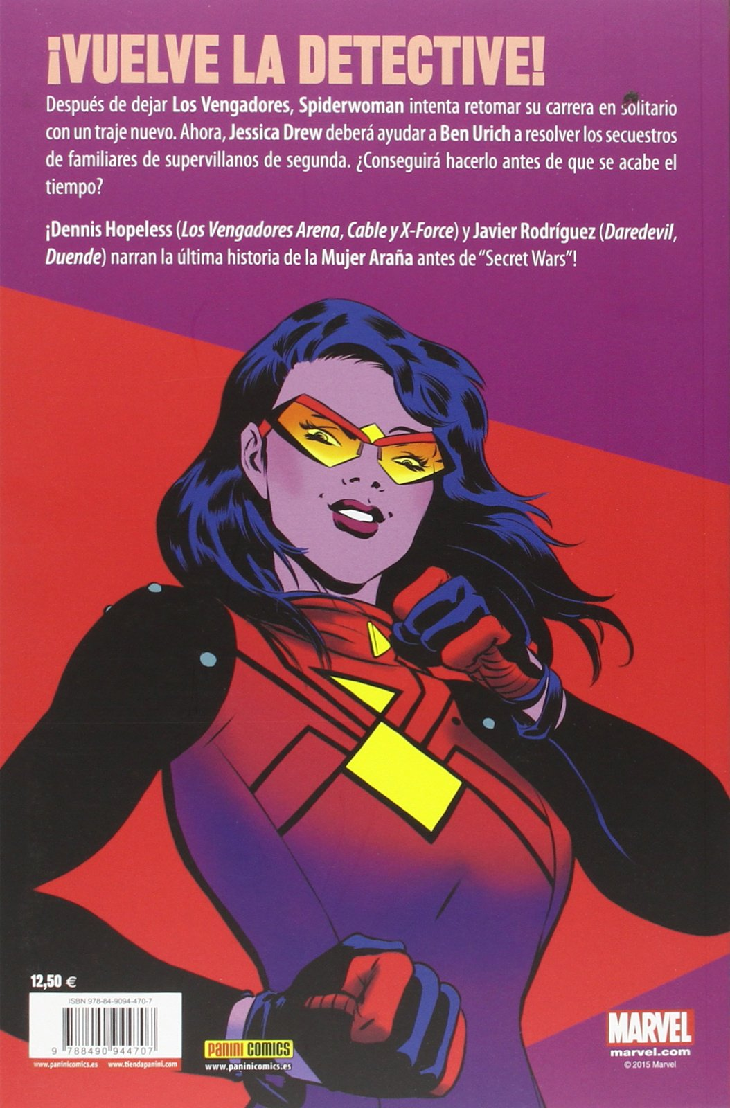 Spiderwoman 2. Trapos Nuevos: Amazon.es: Denis Hopeless: Libros