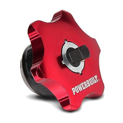 Powerbuilt 1/4-Inch Drive 2 in 1 Thumb Ratchet & Bits Driver, Finger Ratchet: Automotive
