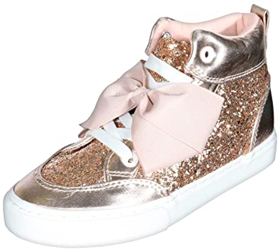 ae8c5633 Amazon.com | JoJo Siwa Girls High Top Fashion Sneakers (Little Kid ...