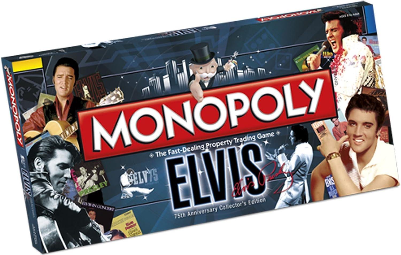 Elvis Presley 75Th Anniversary Monopoly Boardgame: Amazon.es: Juguetes y juegos