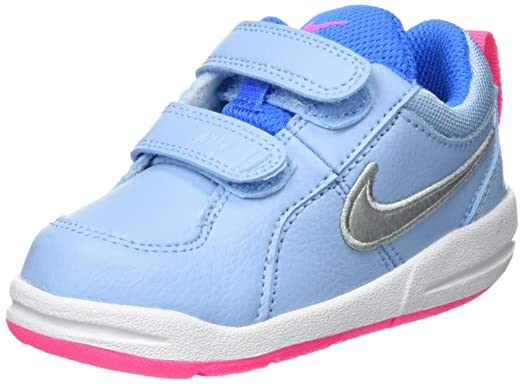 Nike Pico 4 (TDV), Zapatillas, Unisex bebé, Azul (Bluecap/Metallic Silver-White-Photo Blue), 22 EU