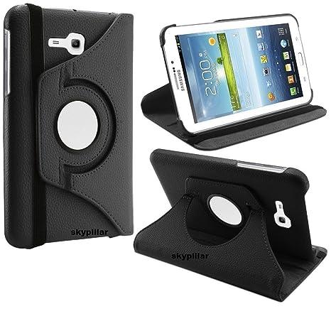the latest f4790 aeb75 Samsung Galaxy Tab E Lite 7.0 Cover, Skypillar Canada, 360° Rotating PU  Leather Case for Galaxy Tab 3 Lite 7.0 SM-T110 / Tab E Lite 7.0 SM-T113 ...