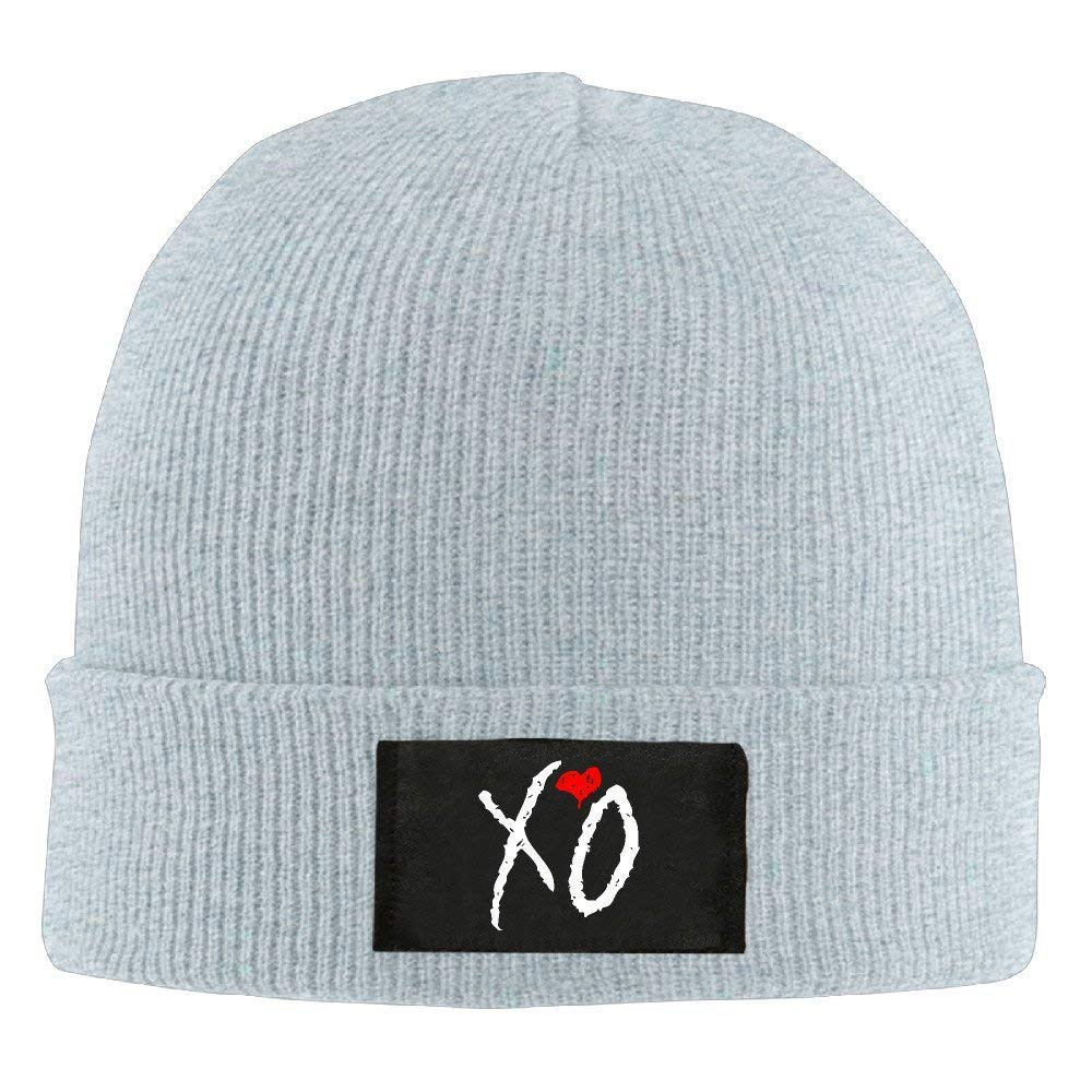 f49af6d17481b Amazon.com  Winter XO The Weeknd Logo Knit Hat Beanie Hat  Clothing