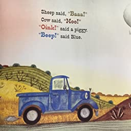 Amazon Little Blue Truck Padded Board Book Schertle Alice Mcelmurry Jill Friendship