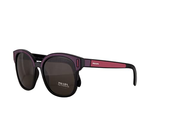 2828d031caa71 Image Unavailable. Image not available for. Color  Prada PR05US Sunglasses  Black ...