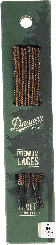 """Danner mens 84"""" Shoelaces, Black/Tan, Universal Regular US: Shoes"""