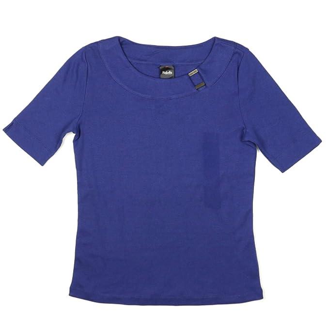 Amazon.com: Rafaella – Camiseta de manga corta para mujer ...