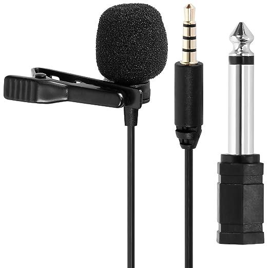 2 opinioni per Tonor Ciondolo/Risvolto Mini Microfono Omnidirezionale Microfono A Condensatore