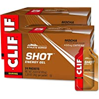CLIF SHOT - Energy Gels - Mocha- Non-GMO - Non-Caffienated - Fast Carbs for Energy - High Performance & Endurance - Fast…