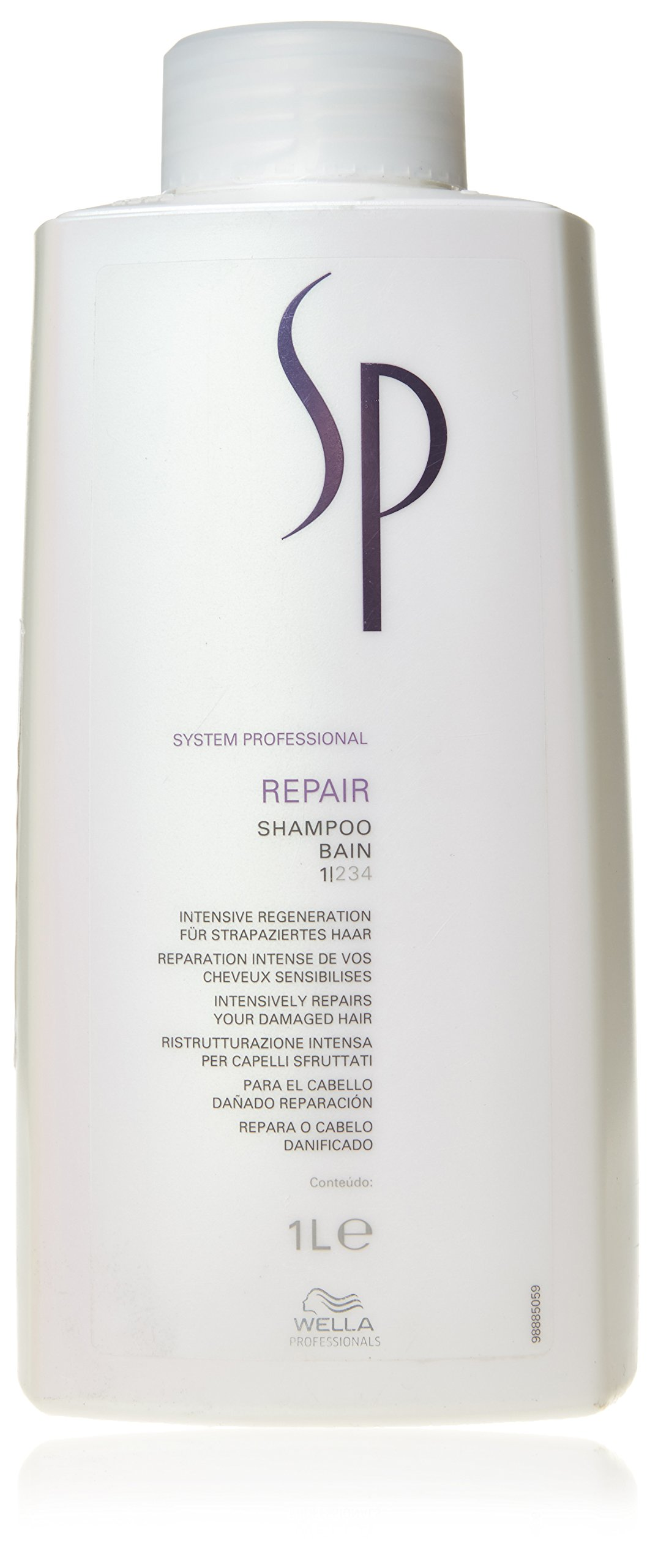 Wella Sp Repair Shampoo for Damaged Hair, 33.8 Ounce by Wella