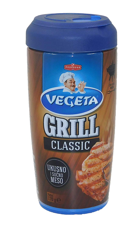 Podravka Vegeta Parrilla Clásico Sazonador De Alimentos 170 g Botella De Plástico Producto Original Croata: Amazon.es: Alimentación y bebidas