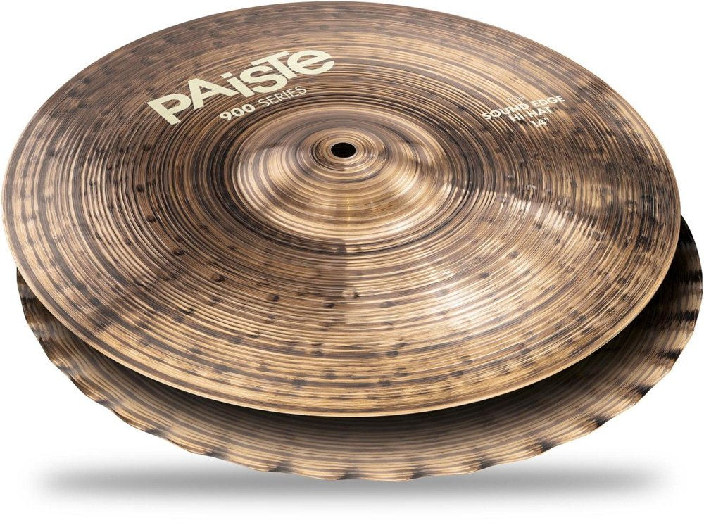 Paiste 14'' 900 Series Sound Edge Hi-hat Cymbals