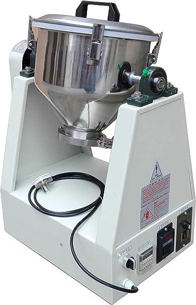 MXBAOHENG yg-3kg Polvo de Laboratorio Mezclador batidora de ...
