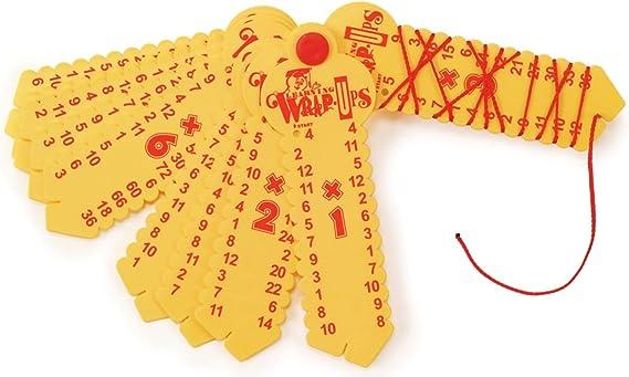 Learning Wrap-ups Multiplication Self Correcting Math Problem Keys