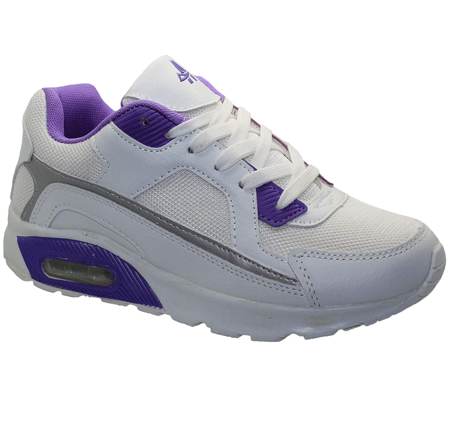 Girls School Shoes Kids Skate Boots Casual Sport Running Trainers White  Boots Ladies  Amazon.co.uk  Shoes   Bags 3348622f7
