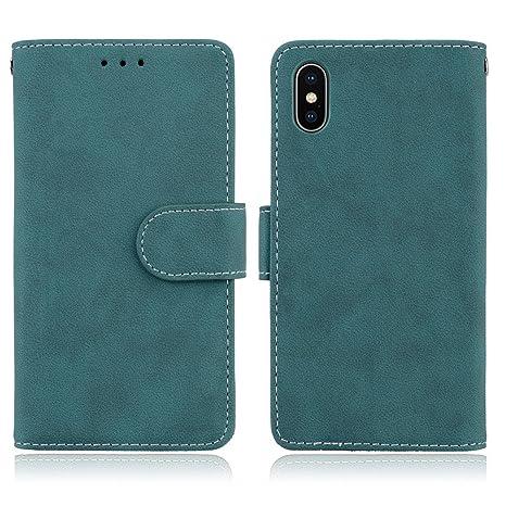 Custodia iphone 6 / 6S Cover blu Cozy hut [Retro] [Matte] Retro