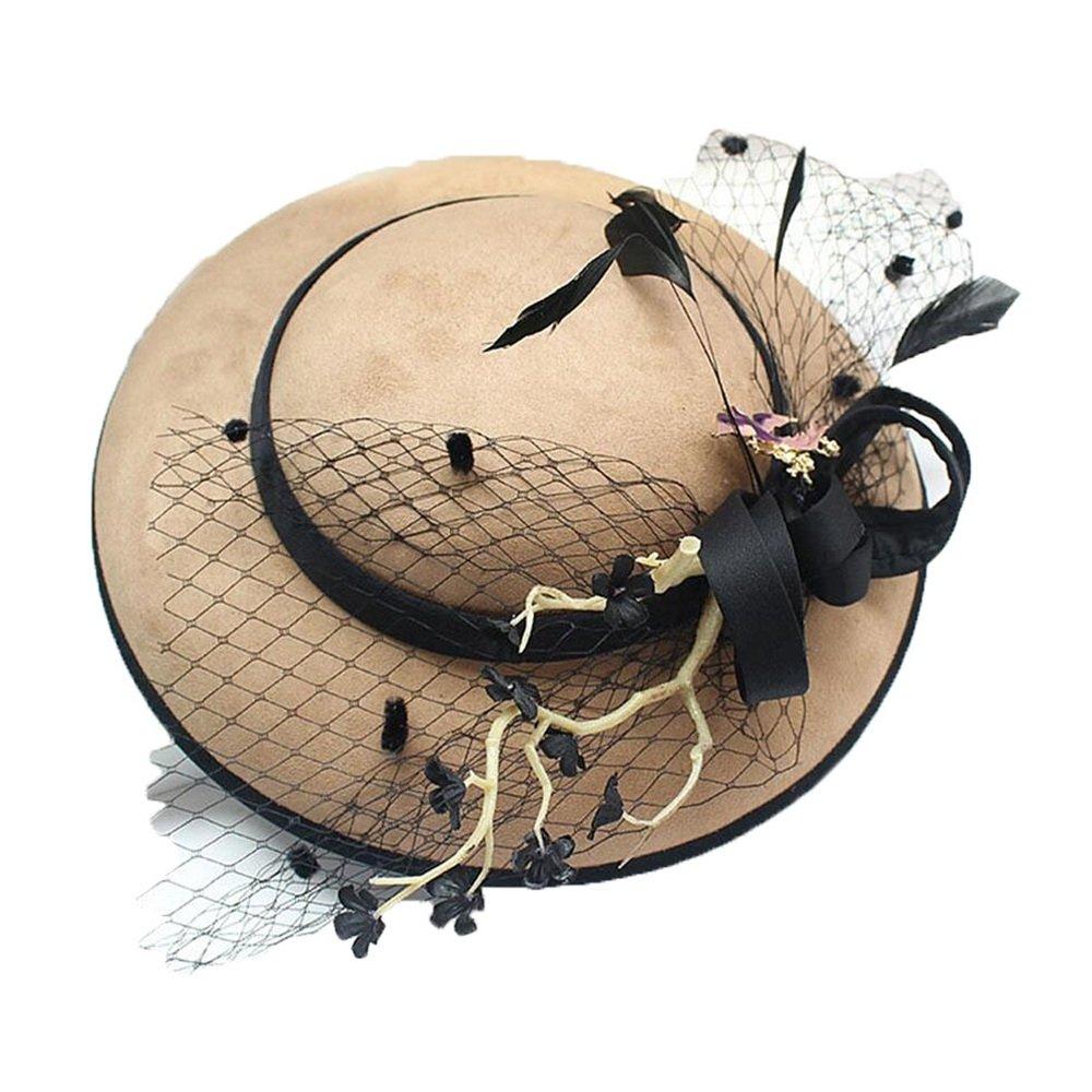 Shuo lan hu wai Der Hut der Braut verziert mit Brautkleid-Hut und Feiertags-Verzierung