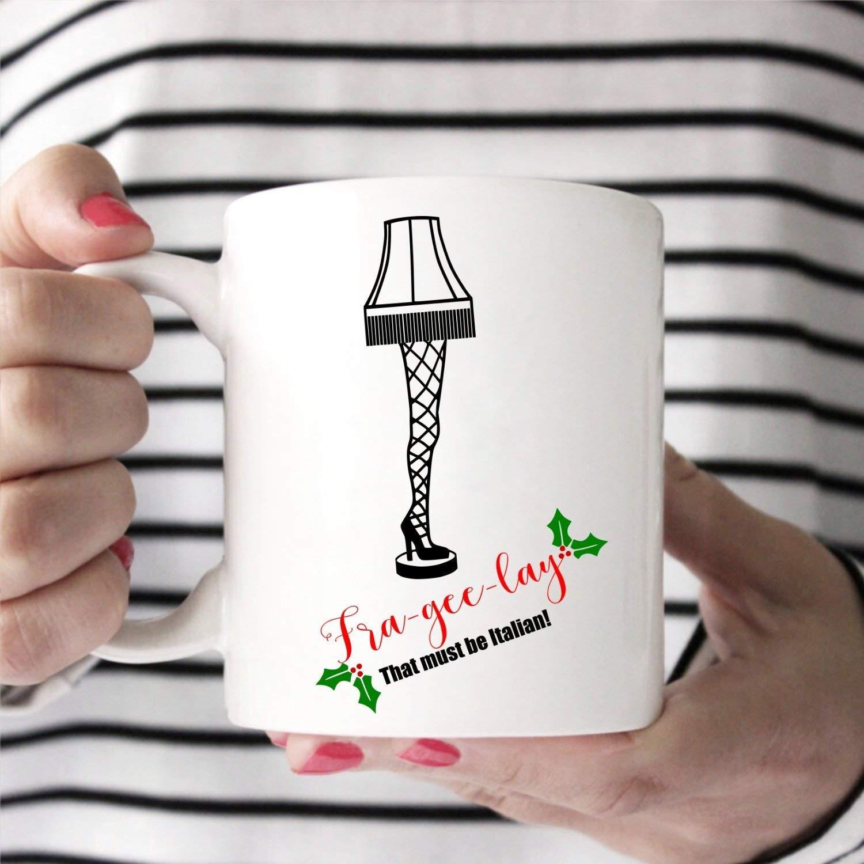 Amazon Com Frageelay Mug Oh Fudge Mug Christmas Story