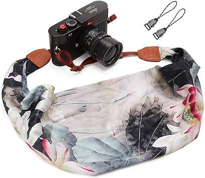 Elvam Universal Men and Women Scarf Camera Strap Belt Compatible for All DSLR Camera Instant Camera and Digital Camera SLR Camera Stripe