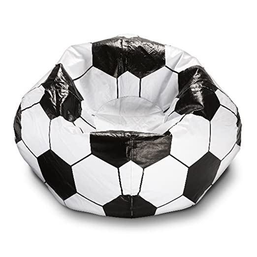 Ace Casual Furniture - Puf de balón de fútbol: Amazon.es: Hogar