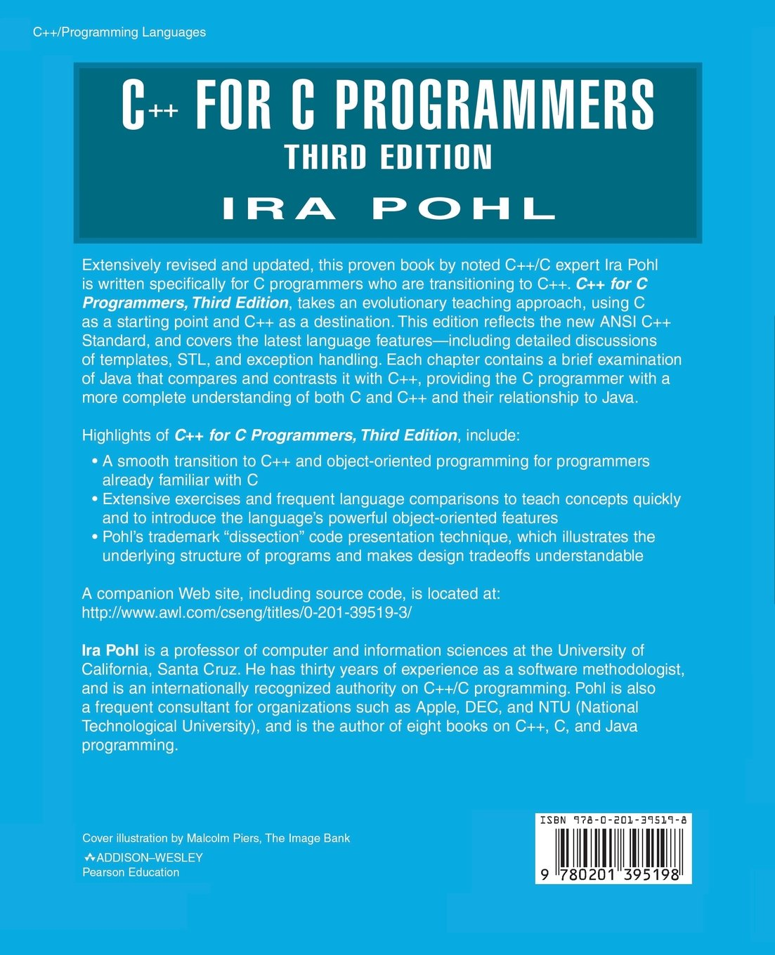 C++ For C Programmers, Third Edition: Amazon in: Ira Pohl: Books
