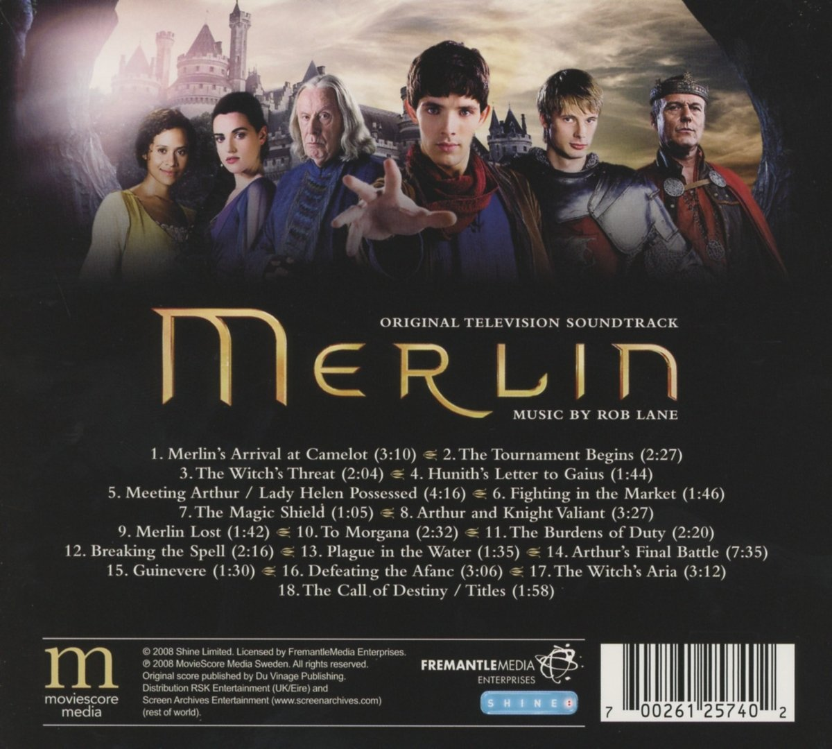 Merlin Soundtrack