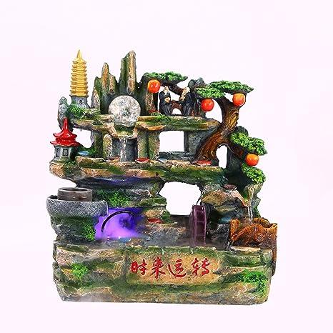 Fuente De Agua Acuario Rockery De Escritorio Bonsai Tanque De Peces Paisaje En Miniatura Inmortal Viejo