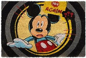 Capacho Disney Mickey You Again 61x41x1,5cm