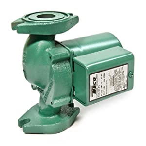 Taco 007-F5-7IFC Cast Iron Circulator Pump with Integral Flow Check