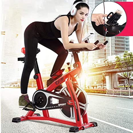Ciclismo Indoor, Bicicleta Estática, Volante Inercia 6 Kg, Ultra ...
