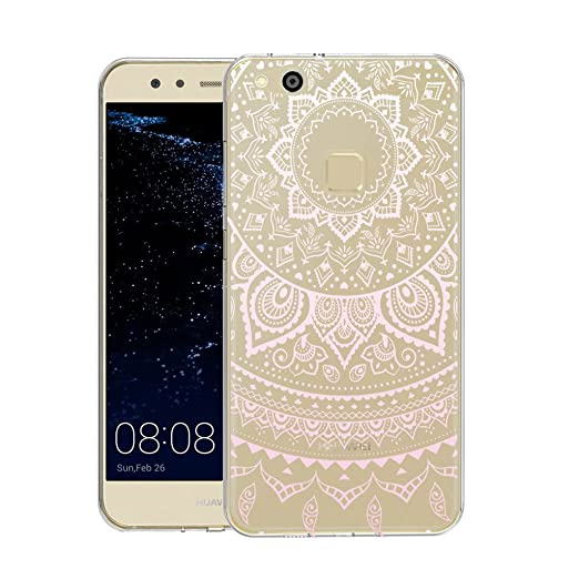 33 opinioni per Huawei P10 Lite Cover , YIGA Moda Rosa Dreamcatcher Trasparente Silicone Morbido