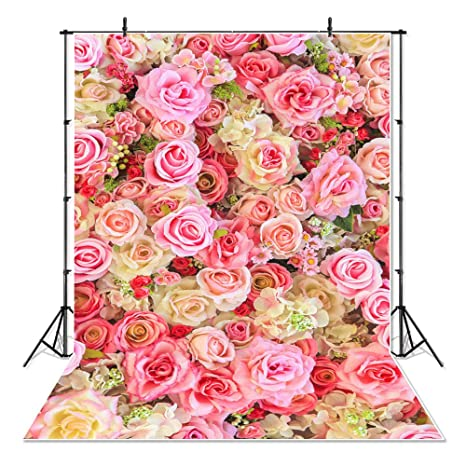 Amazon Mehofoto Blossom Flowers Backdrop Rose Wedding