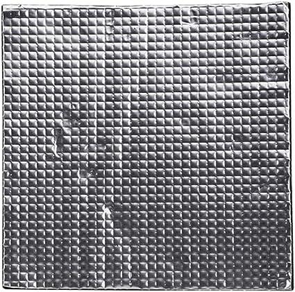 XuBa 400 x 400 x 10 mm aislamiento de calor de algodón autoadhesivo aislante algodón para impresora 3D CR-10S calefacción cama calcomanía: Amazon.es: Oficina y papelería