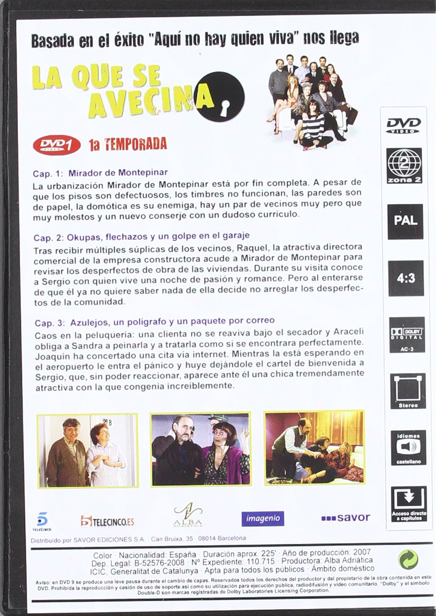 Amazon.com: La Que Se Avecina (1era Temporada) [PAL]: Movies ...