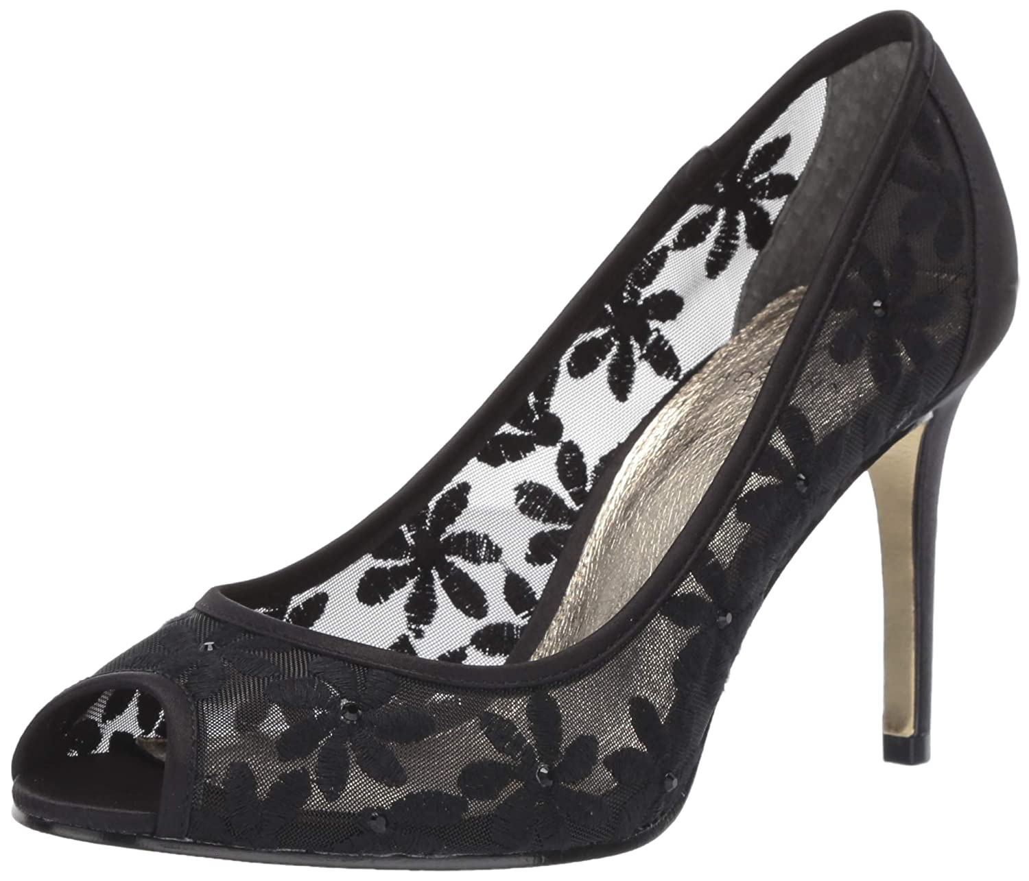 Black Adrianna Papell Womens Frances Pump