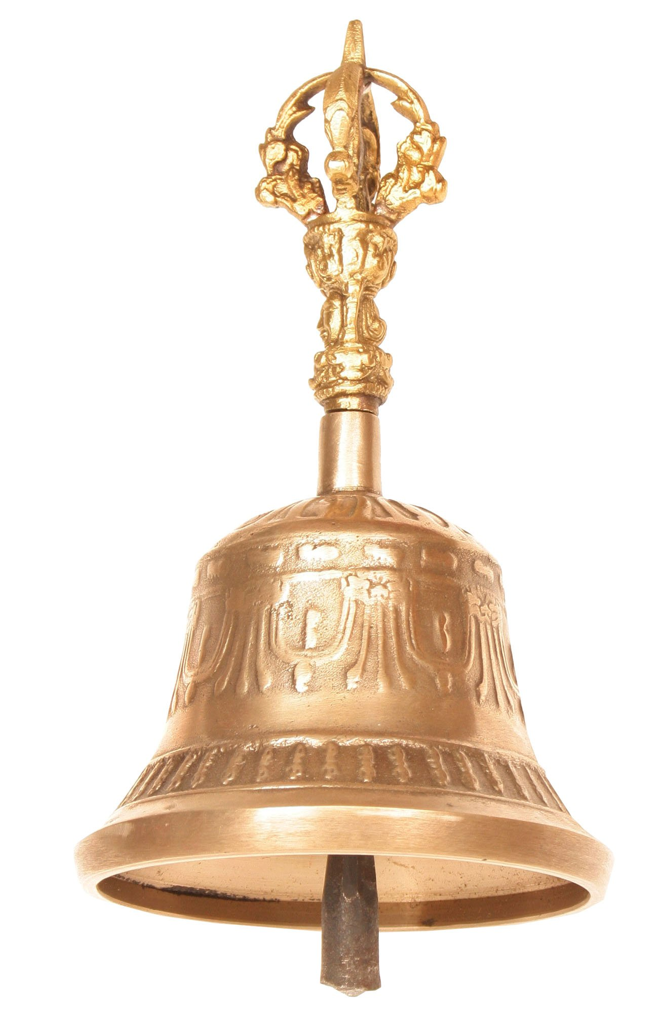 Bell with Dorje Handle - Bronze,Brass and Iron